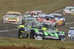 Mauro Giallombardo, Maquin Parts Racing Ford; Guillermo Ortelli, JP Racing Chevrolet e Sergio Alaux,