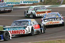 Santiago Mangoni, Laboritto Jrs Torino and Matias Rodriguez, UR Racing Dodge and Luis Jose di Palma,