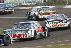 Santiago Mangoni, Laboritto Jrs Torino and Matias Rodriguez, UR Racing Dodge and Luis Jose di Palma, Indecar Racing Torino