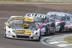 Leonel Pernia, Las Toscas Racing Chevrolet; Emanuel Moriatis, Alifraco Sport Ford e Mathias Nolesi,