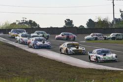 Mathias Nolesi, Nolesi Competicion Ford; Leonel Pernia, Las Toscas Racing Chevrolet; Matias Rodrigue