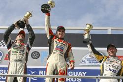Podio: vincitore della gara Mariano Werner, Werner Competicion Ford, secondo posto Juan Pablo Gianin