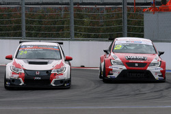 Kevin Gleason, Honda Civic TCR, West Coast Racing y Aleksey Dudukalo, SEAT Leon, Craft Bamboo Racing