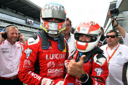 Jordi Gene, SEAT Leon, Craft Bamboo Racing LUKOIL and Pepe Oriola, SEAT Leon, Craft Bamboo Racing LU