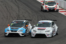Michel Nykjaer, SEAT Leon, Target Competition, Tomas Engstrom, SEAT Leon, Liqui Moly Team Engstler y