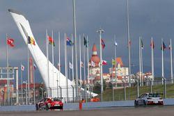 Алексей Дудукало, SEAT Leon, Craft Bamboo Racing Lukoil и Михаил Грачев, SEAT Leon, Liqui Moly Team Engstler