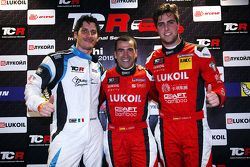 pole position Jordi Gene, SEAT Leon, Craft Bamboo Racing LUKOIL second place Andrea Belicchi, SEAT Leon, Target Competition third place Pepe Oriola, SEAT Leon, Craft Bamboo Racing LUKOIL