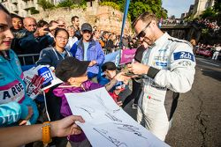 #4 ByKolles Racing CLM P1/01: Tiago Monteiro