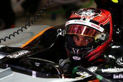 Esteban Ocon, piloto de testes da Sahara Force India F1 VJM08