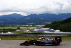 Stoffel Vandoorne, McLaren MP4-30 Test e Reserve Driver