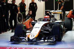 Esteban Ocon, Sahara Force India F1 VJM08 Test Driver
