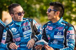 #29 Pegasus Racing Morgan LM P2: Leo Roussel y Ho-Pin Tung