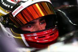 Pascal Wehrlein, pilote d'essais Sahara Force India F1 VJM08