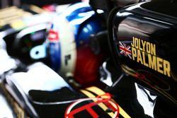 Jolyon Palmer, piloto de testes e reserva da Lotus F1 E23
