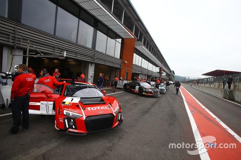 #1 Belgian Audi Club Team WRT, Audi R8 LMS Ultra: René Rast, Laurens Vanthoor, Markus Winkelhock