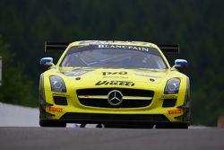 #70 GT Russian Team Mercedes SLS AMG GT3: Alexei Karachev, Marco Asmer, Alexey Karachev