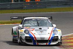 #28 Delahaye Racing Team, Porsche 997 GT3R: Emmanuel Orgeval, Pierre Bordet, Alexandré Viron