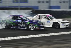Андрей Песегов, Nissan Skyline и Артур Мелкумян, Nissan Silvia S13