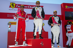 Podium: Race winner #23 Miller Motorcars Ferrari 458: Carlos Conde, second place #91 Ferrari of Long