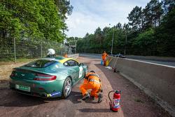 #4 Aston Martin Belgium GT4: Arnold Herreman berhenti di lintasan trek