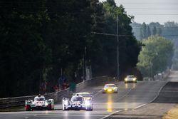 #9 Audi Sport Team Joest Audi R18 e-tron quattro: René Rast, Filipe Albuquerque, Marco Bonanomi, #18