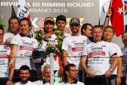 Toprak Razgatlioglu et Kenan Sofuoglu, Kawasaki Puccetti Racing