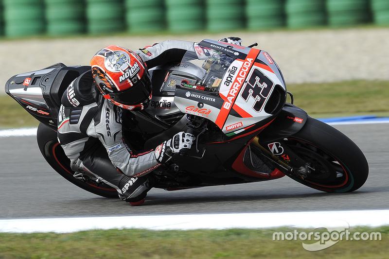 #33 Marco Melandri (Aprilia)