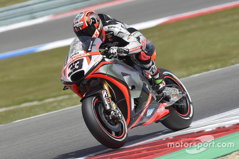 2015: Marco Melandri (Aprilia RS-GP)