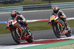 Marco Melandri, Aprilia Racing Team Gresini, und Alvaro Bautista, Aprilia Racing Team Gresini