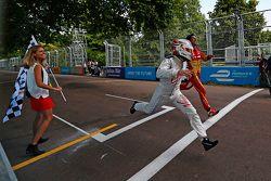 Fabio Leimer, Virgin Racing y Lucas di Grassi, Audi Sport ABT