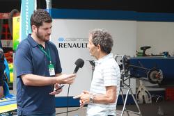 Alain Prost entrevistado por Motorsport.com