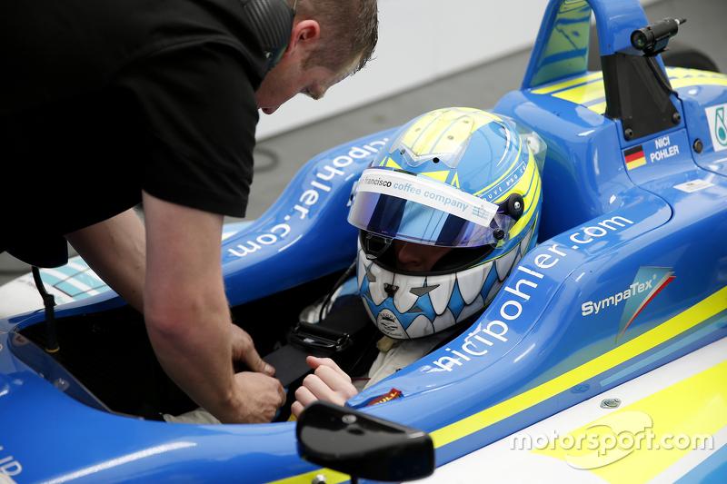 18 Nicolas Pohler, Double R Racing Dallara Mercedes-Benz