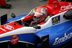 12. Pietro Fittipaldi, Fortec Motorsports, Dallara Mercedes-Benz