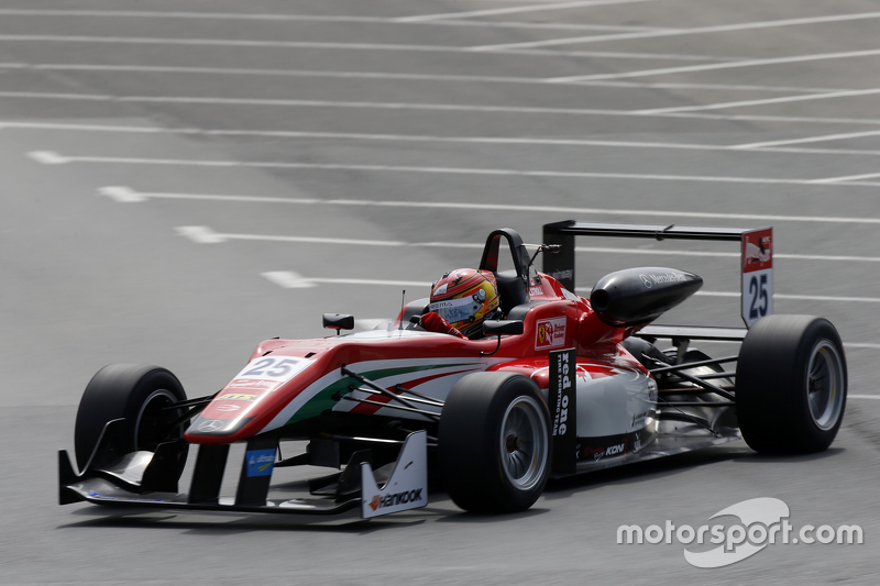 #25 Lance Stroll, Prema Powerteam, Dallara Mercedes-Benz