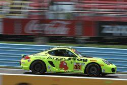 #88 Rebel Rock Racing Porsche Cayman: Nate Norenberg, Tyler Stone