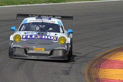#44 Magnus Racing, Porsche 911 GT America: John Potter, Andy Lally