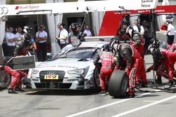 Pitstop, Nico Müller, Audi Sport Team Rosberg Audi RS 5 DTM