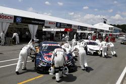 Antonio Felix da Costa, BMW Team Schnitzer BMW M4 DTM and Martin Tomczyk, BMW Team Schnitzer BMW M4