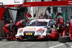 Pitstop, Mattias Ekström, Audi Sport Team Abt Sportsline, Audi A5 DTM