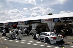 Pitstop, Martin Tomczyk, BMW Team Schnitzer BMW M4 DTM