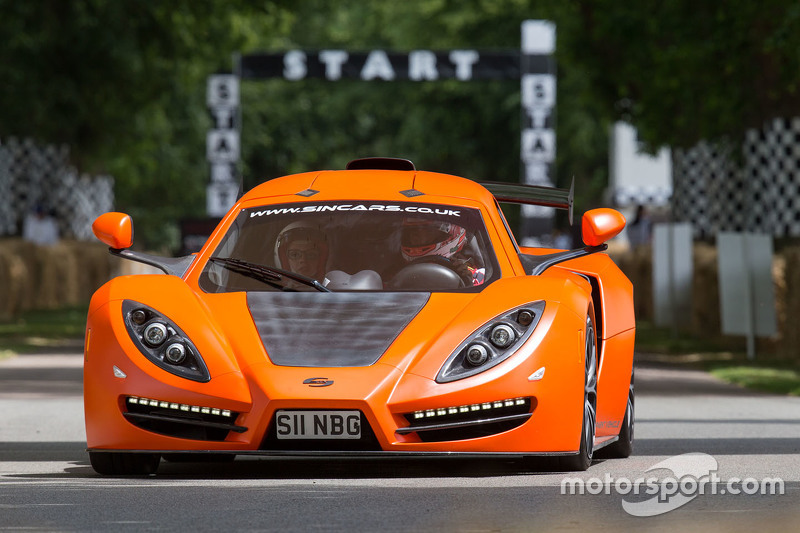 Goodwood Festival of Speed action