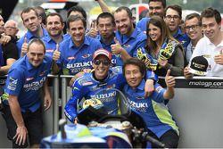 Sıralama turları ikincisi Aleix Espargaro, Suzuki MotoGP Takımı