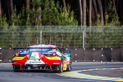 #51 AF Corse, Ferrari 458 GTE: Gianmaria Bruni, Toni Vilander, Giancarlo Fisichella