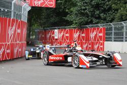 Karun Chandhok, Mahindra Racing, et Nicolas Prost, e.dams-Renault
