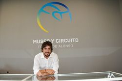 Fernando Alonso at the Fernando Alonso Museum and Circuit