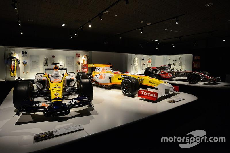Museo Y Circuito Fernando Alonso : Fórmula las mejores curvas y rectas de la fórmula juntas en