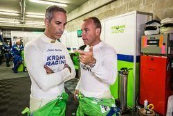 #40 Krohn Racing Ligier JS P2: Joao Barbosa y Nic Jonsson