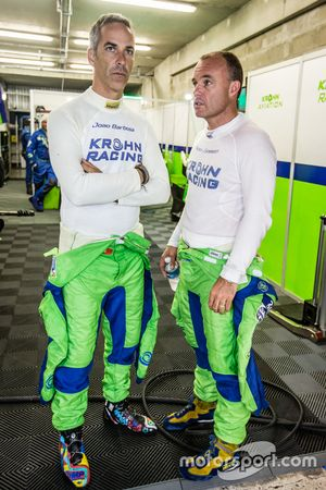 #40 Krohn Racing Ligier JS P2: Joao Barbosa and Nic Jonsson