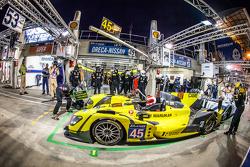 #45 Ibanez Racing ORECA 03R: Pierre Perret, José Ibanez, Ivan Bellarosa