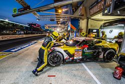 #50 Larbre Compétition, Corvette C7.R: Paolo Ruberti, Gianluca Roda, Kristian Poulsen